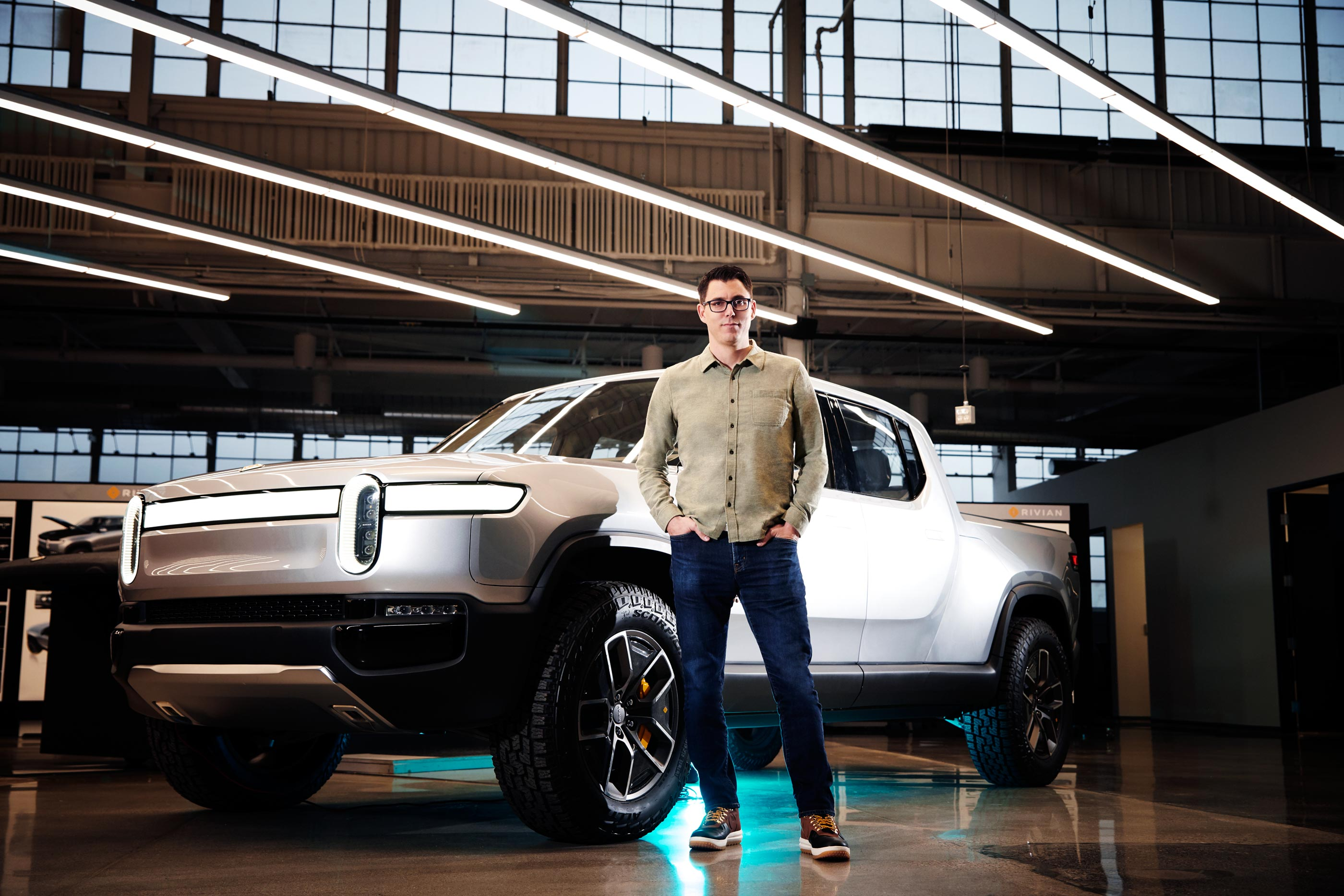 Rivian Electric Car Company  3